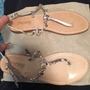 NWOT Hand made Sandals